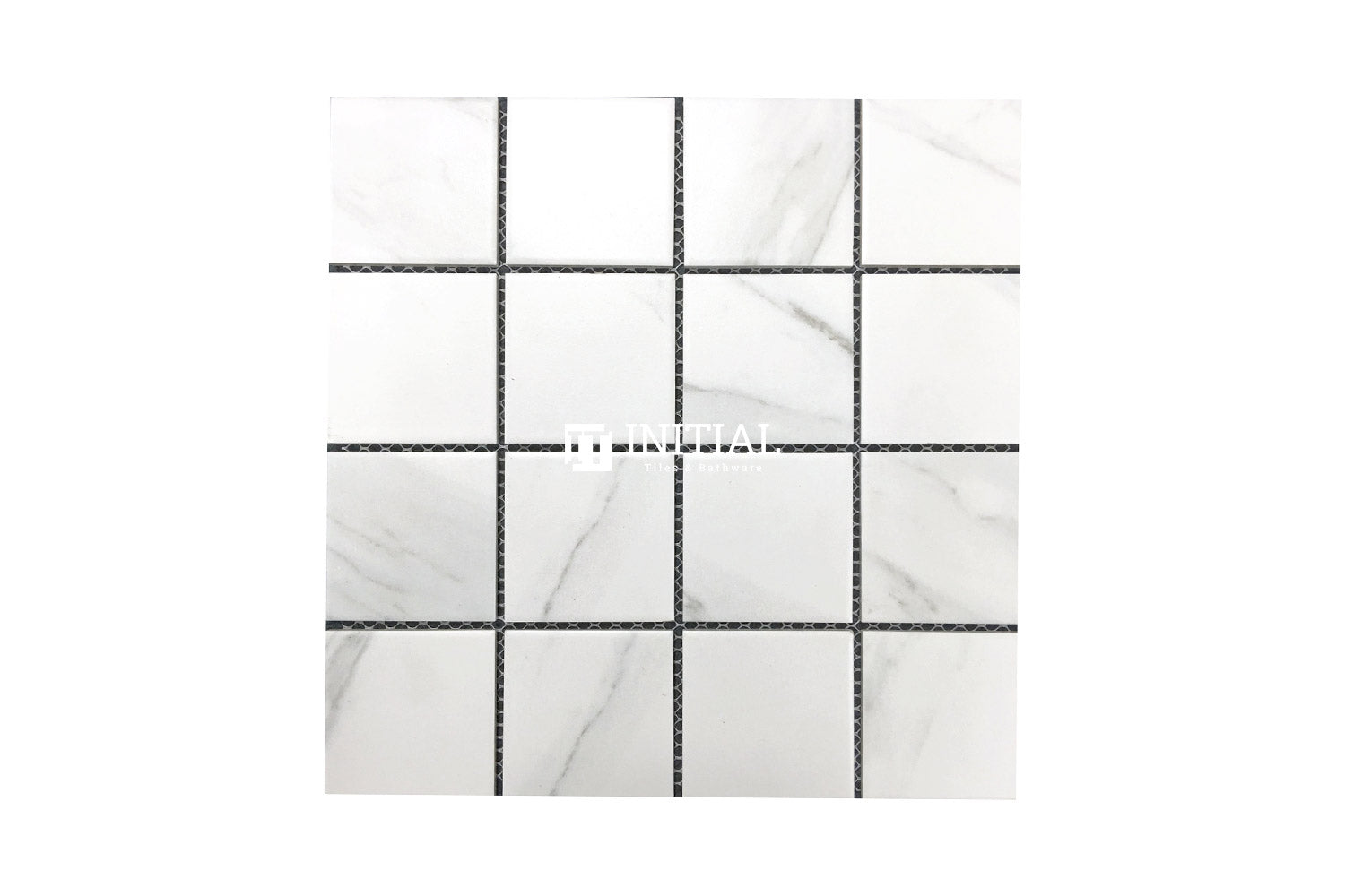 Feature Mosaic Persian Carrara Look Mosaic Square Matt 306X306