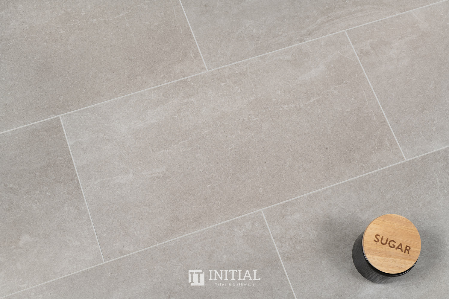Concrete Look Tile Alaska Light Grey Lappato 300X600