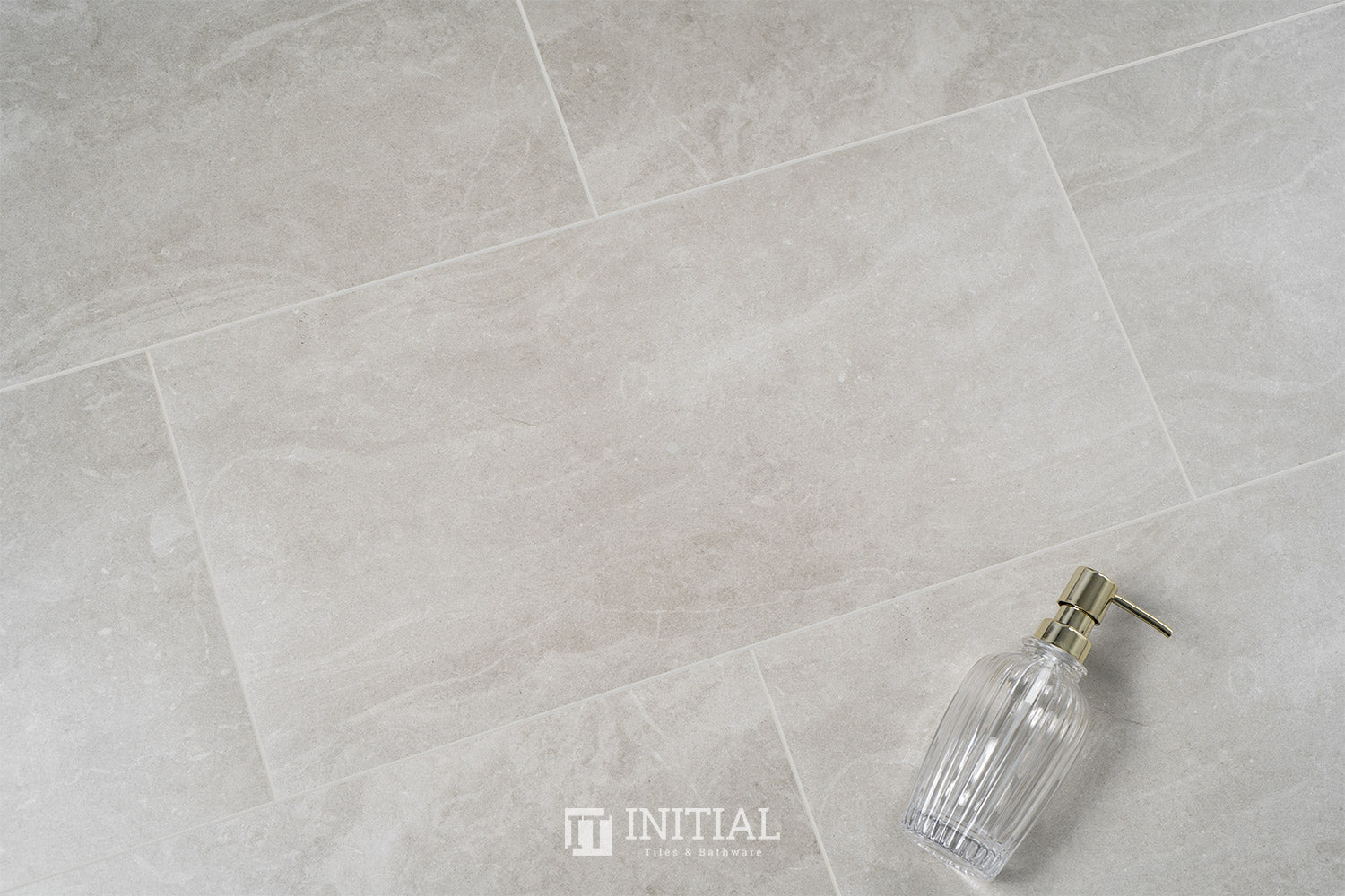 Concrete Look Tile Alaska Light Grey Matt 300X600