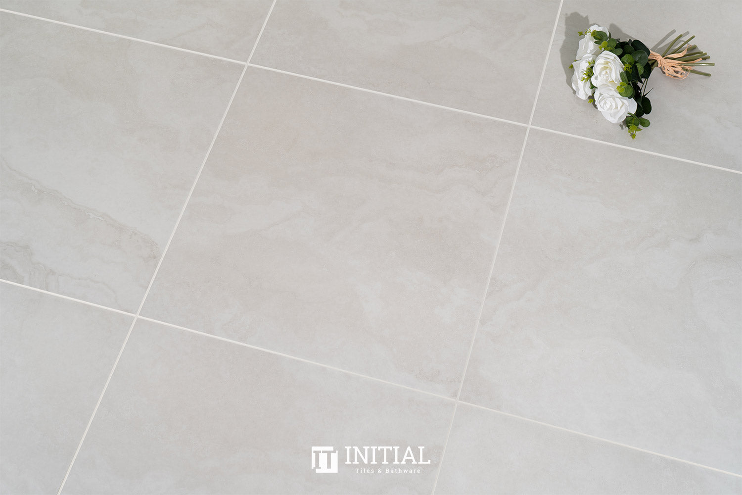 Travertine Look Tile Summer Bianco Matt 600X600