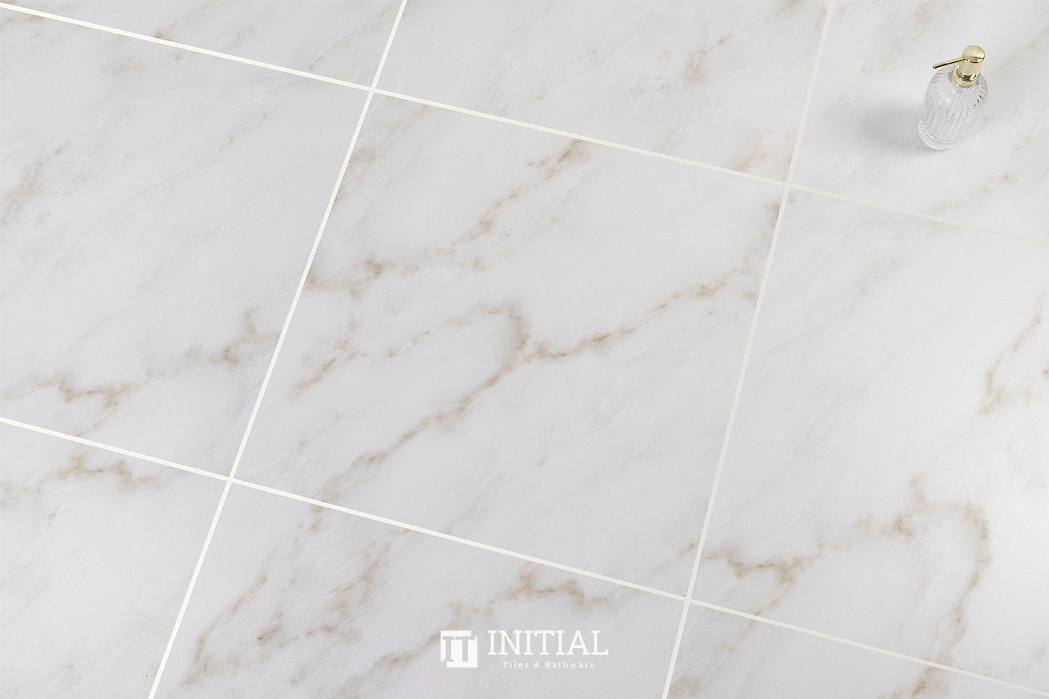 Marble Look Tile Calacatta Gold Matt 600X600