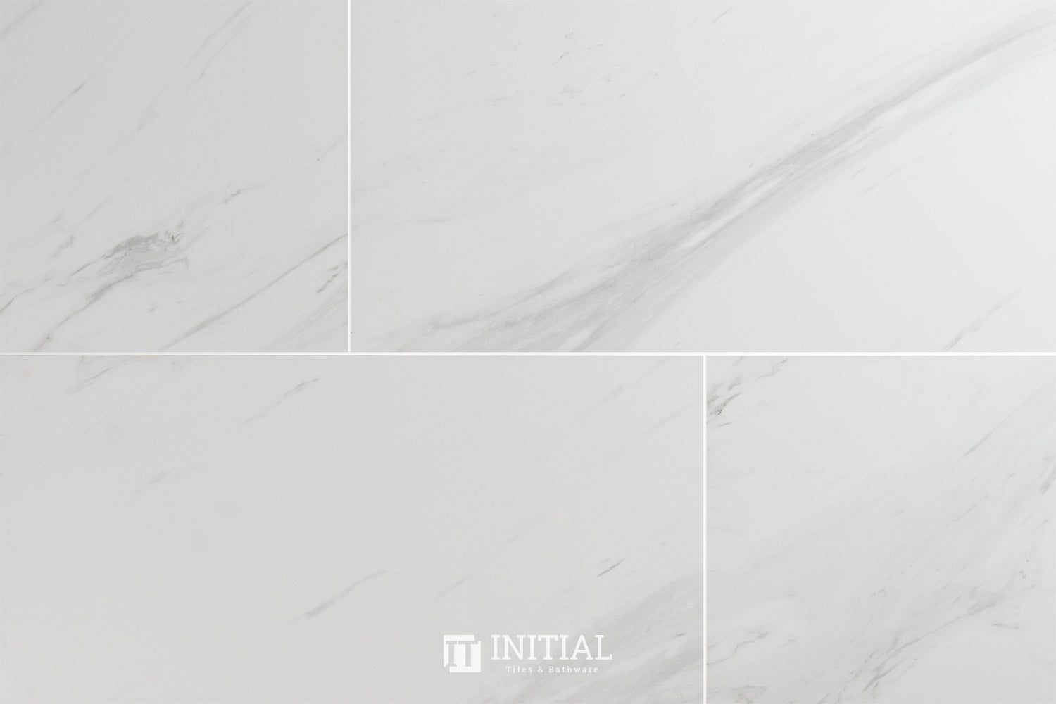 Marble Look Tile Hugo Calacatta Polished 300X600