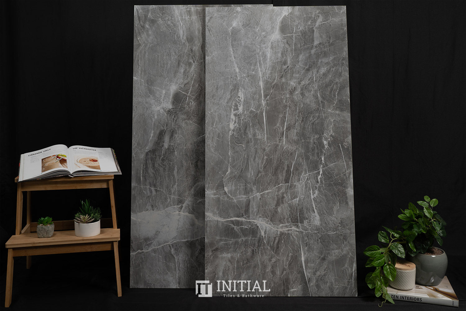 Marble Look Marvellous Nero Polished 600X1200