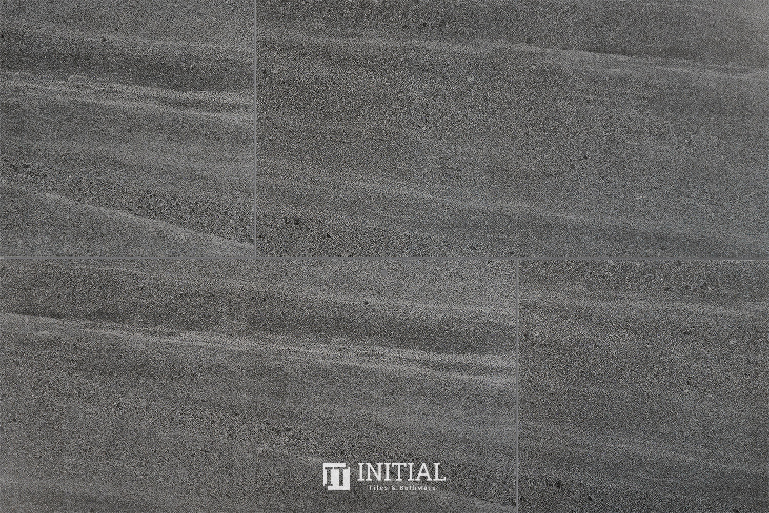 Marble Look Tile New Delhi Dark Grey Matt 300X600