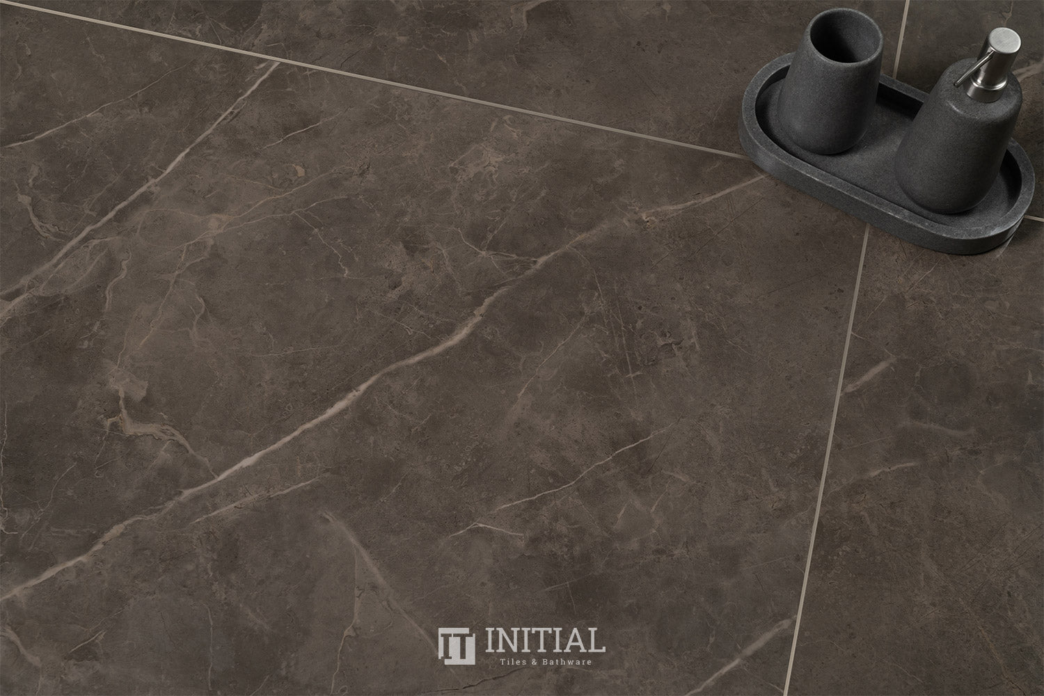 Marble Look Pietra Brown Polished 600X1200