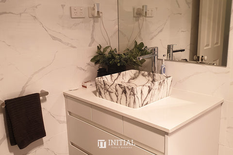 Marble Look Tile Romantic Calacatta Polished 300X600
