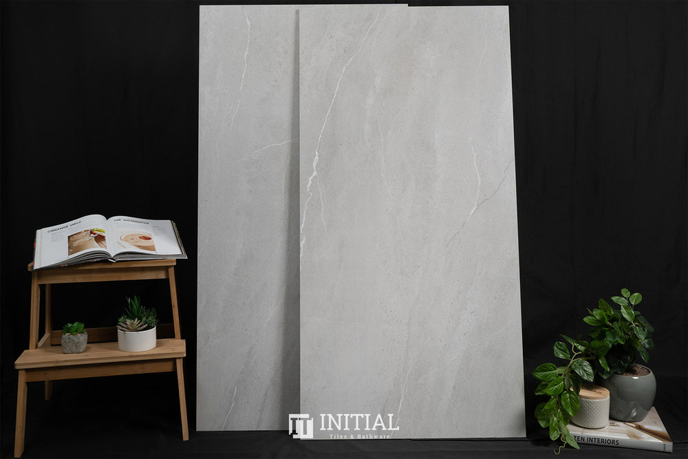 Marble Look Royal Stone Neutral Grey Polished 600X1200