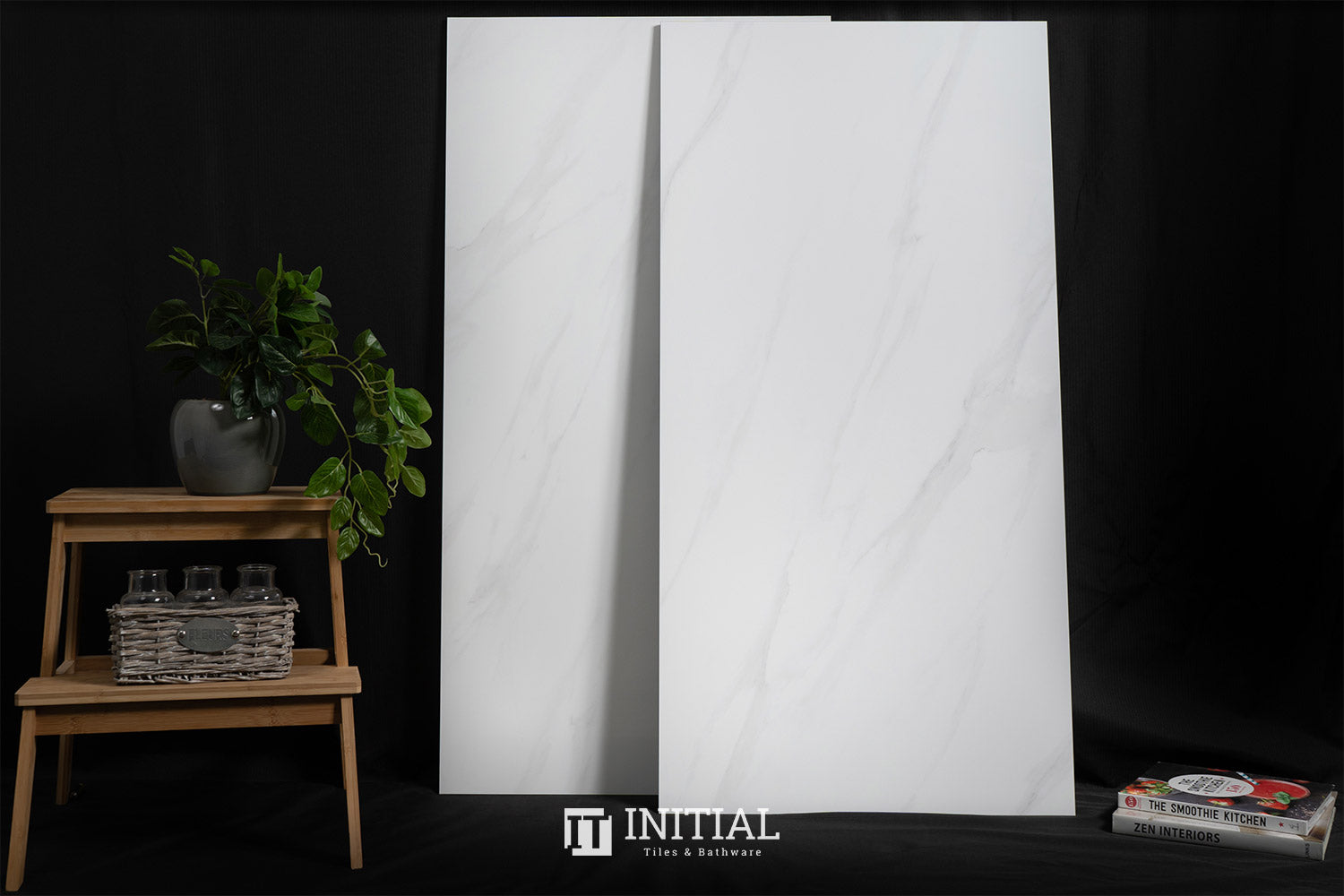 Marble Look Tile Arctic White Polished 600X1200