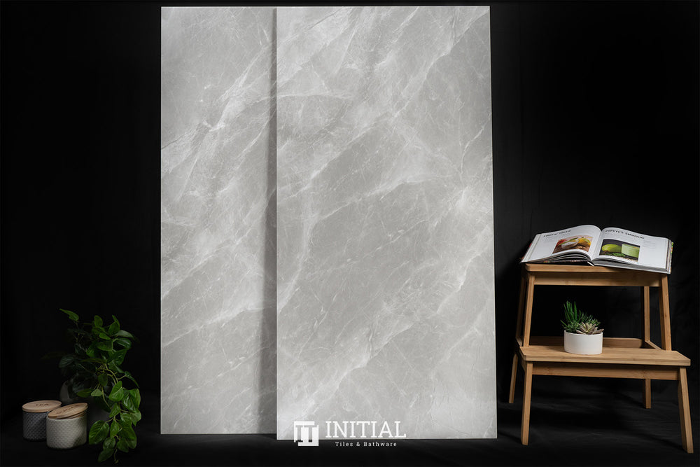 Marble Look Tile Torch Grey Honed 600X1200