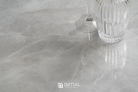 Marble Look Tile Torch Grey Polished 600X1200