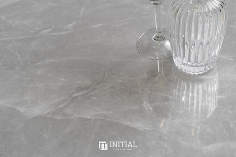 Marble Look Tile Torch Silver Polished 600X1200
