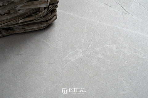 Marble Look Tile Vaucluse Grey Matt 300X600