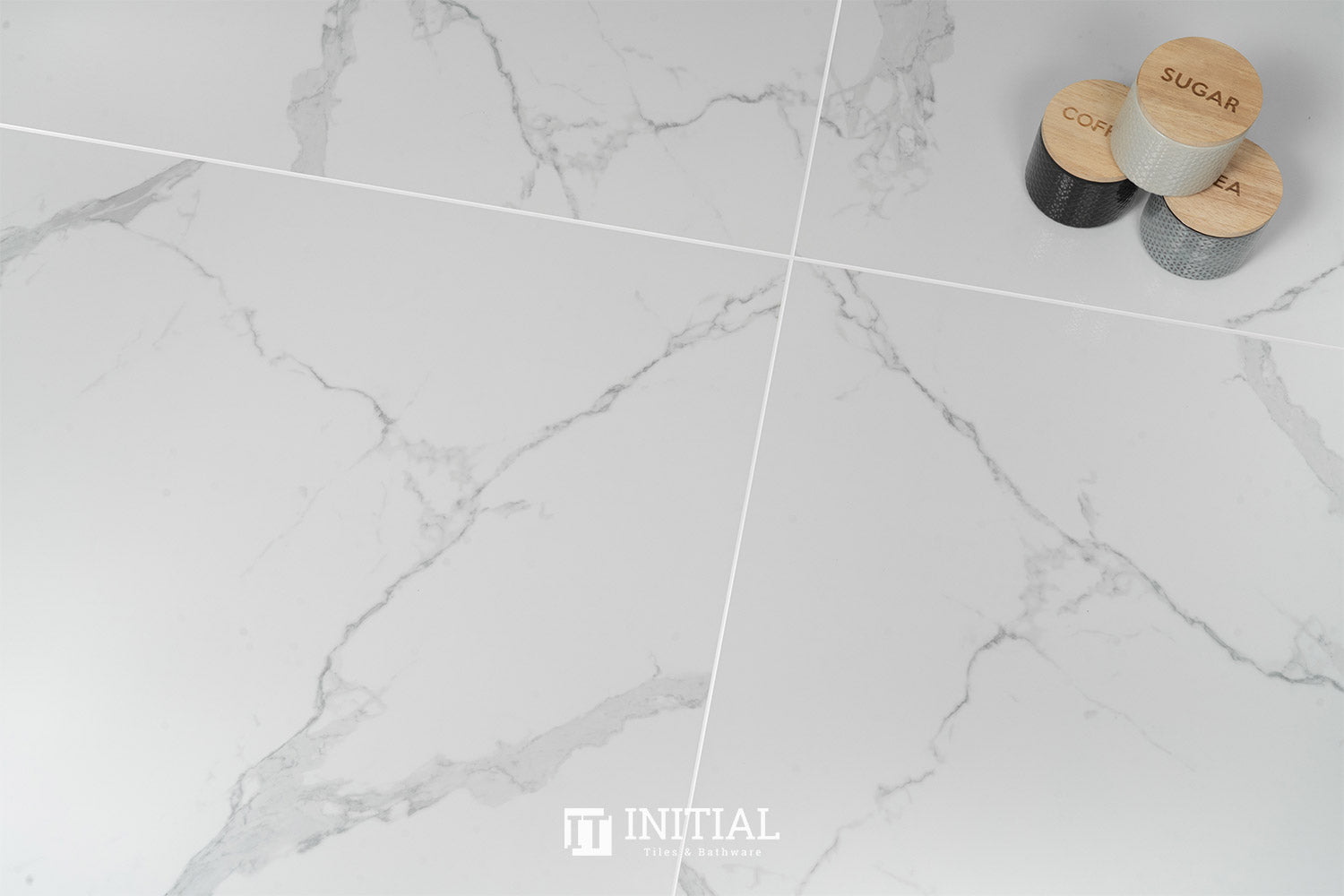 Marble Look Modern White Polished 800X800