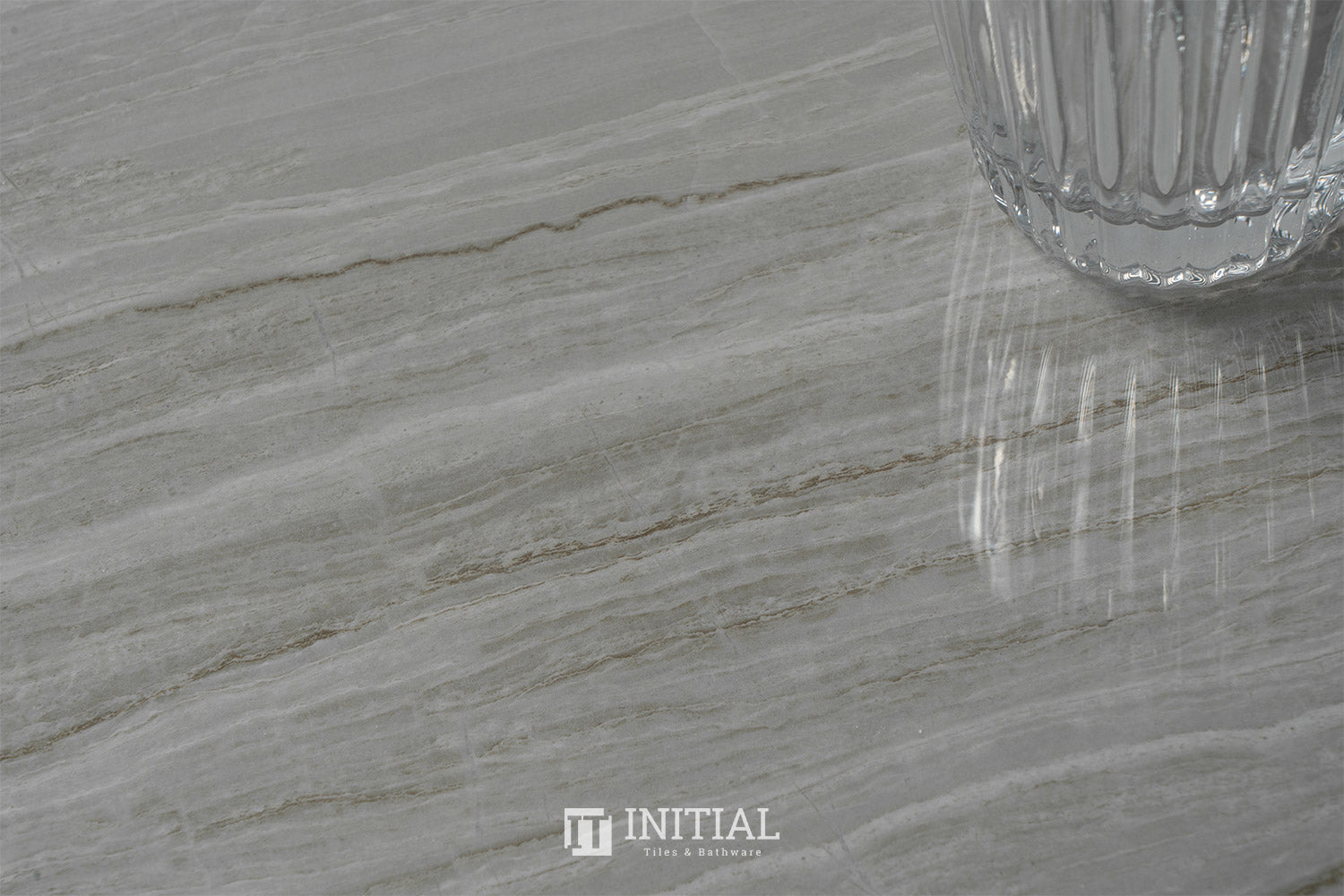 Marble Look Wooden Grey Polished 800X800