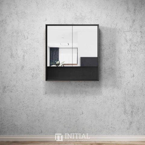 Otti Milano Wall Mounted Shaving Cabinet with 2 Doors 750W X 800H X 150D