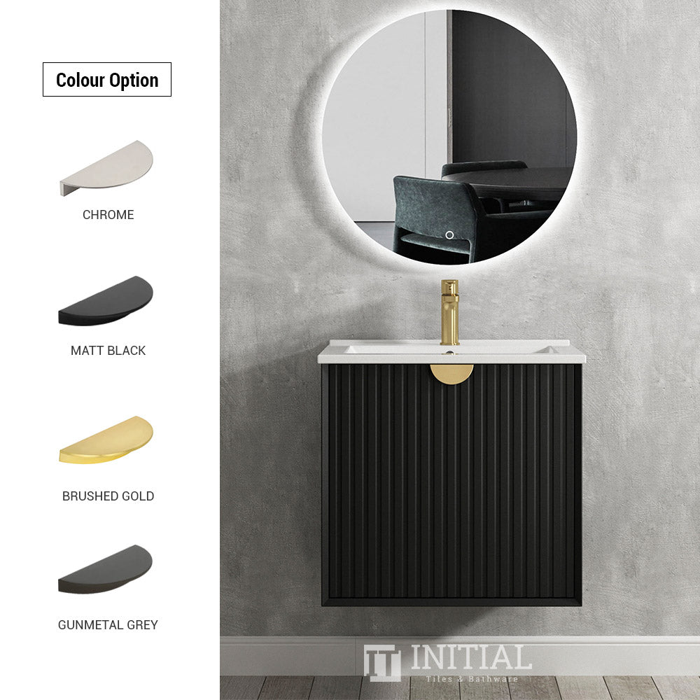 Otti Milano Wall Hung Vanity Handle Colours