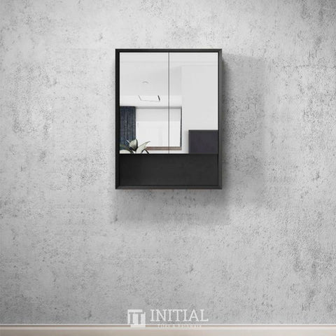 Otti Milano Wall Mounted Shaving Cabinet with 2 Doors 600W X 800H X 150D