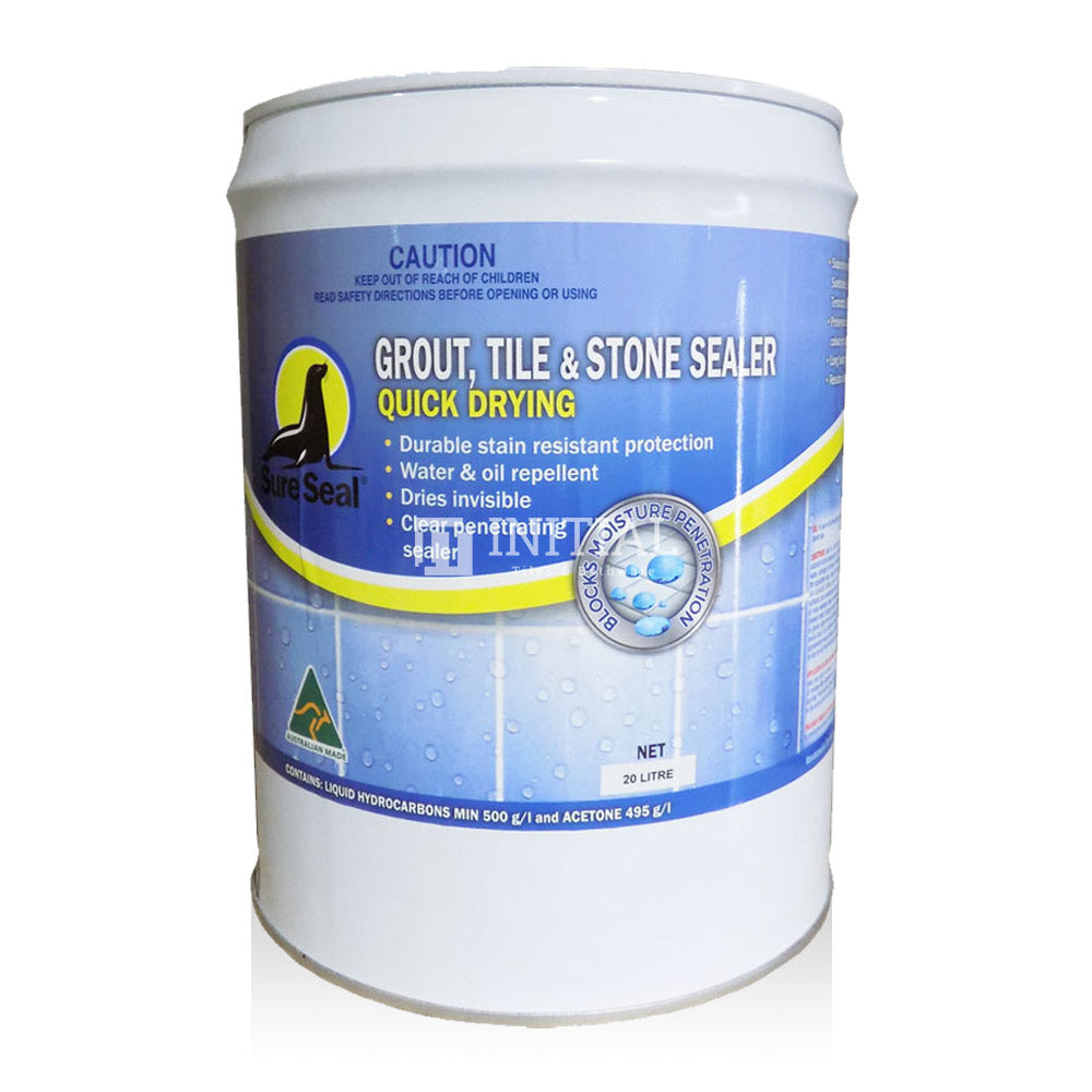 Sure Seal Sealants Quick Drying Grout Tile & Stone Sealer 20L