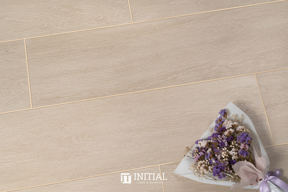 Timber Tile Beige Oak Porcelain Matt 200X900