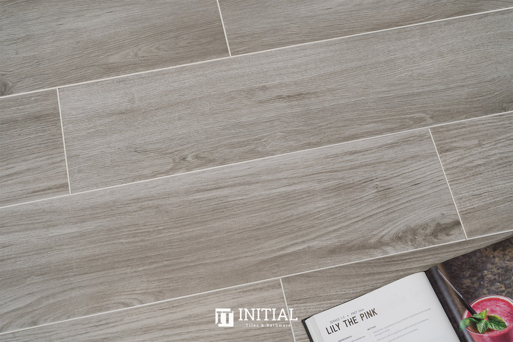 Timber Tile PC Wood Natural Grey Matt 200X1200