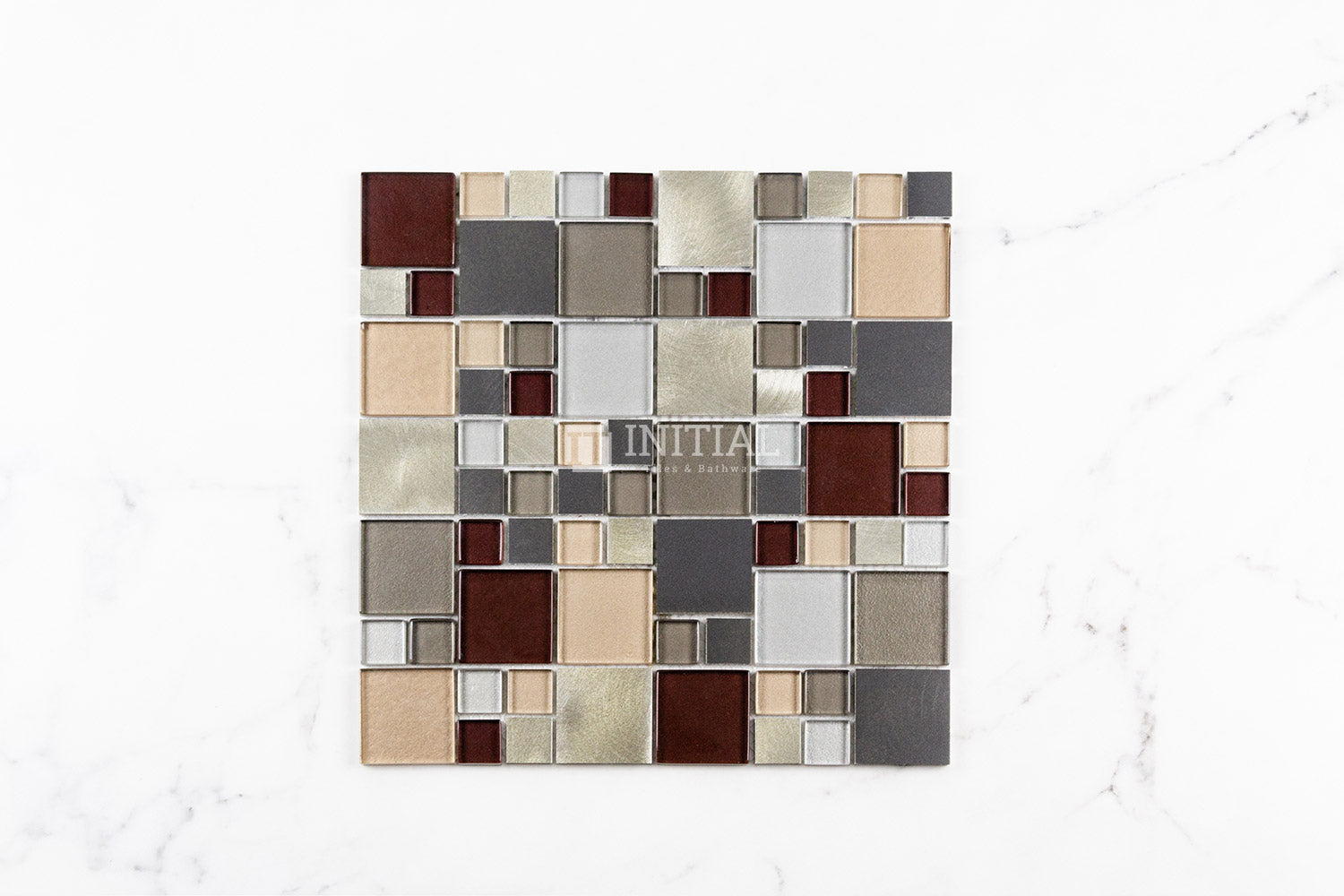 Bathroom Feature Mosaic Metallic #3 L033