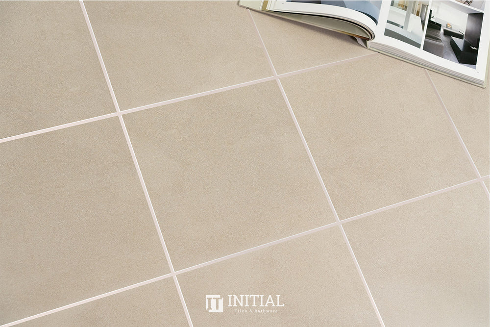 Concrete Look Tile Bellagio Beige Matt 300X300