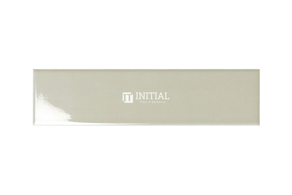 Subway Tile Town Wall Light Grey Gloss 75X300