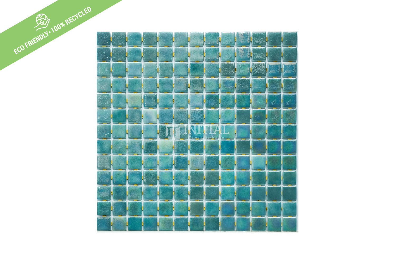 Swimming Pool Mosaic Euro Mosaic Iris Blade Green