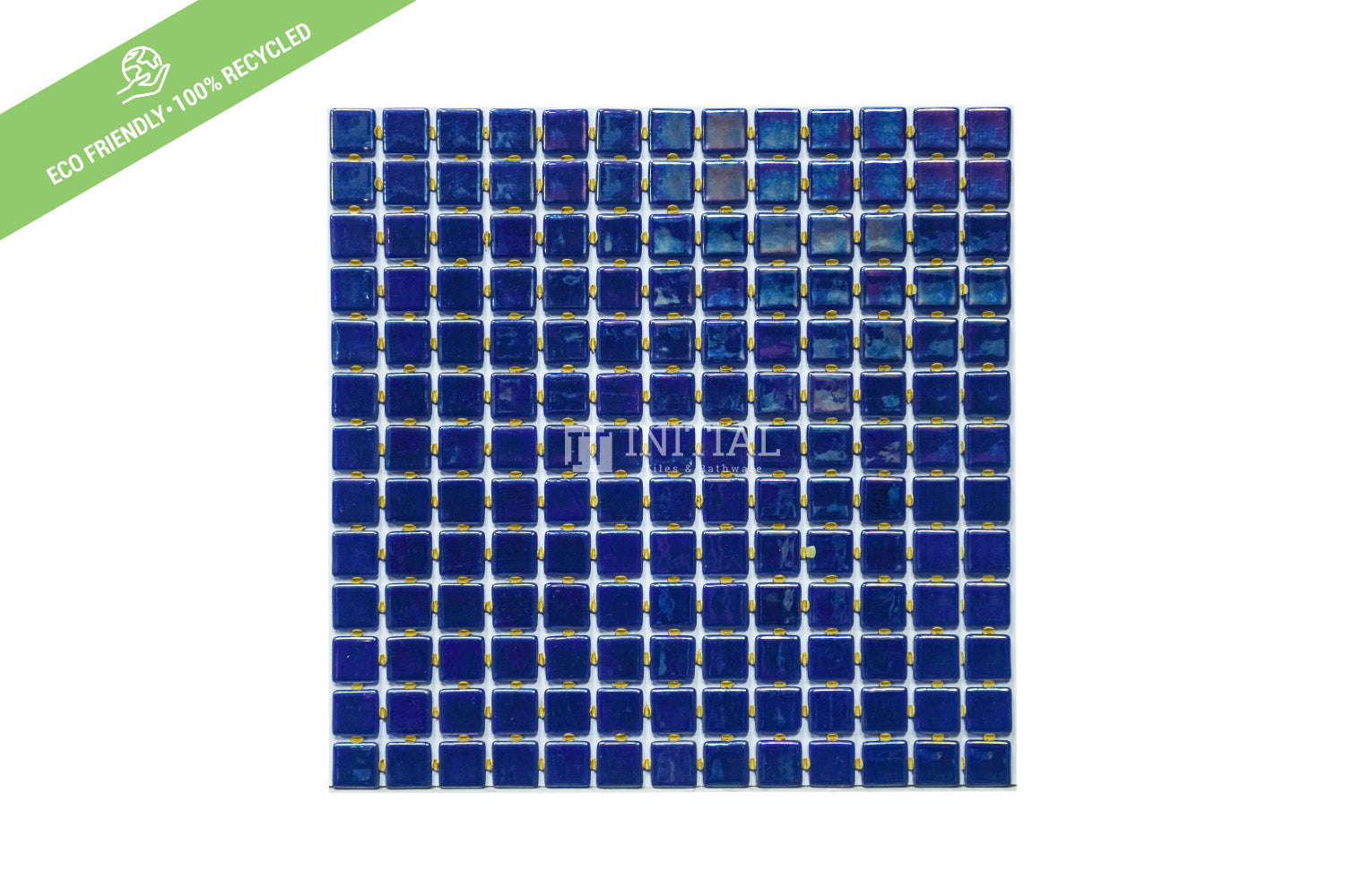 Swimming Pool Mosaic Euro Mosaic Iris Deep Blue Pearl