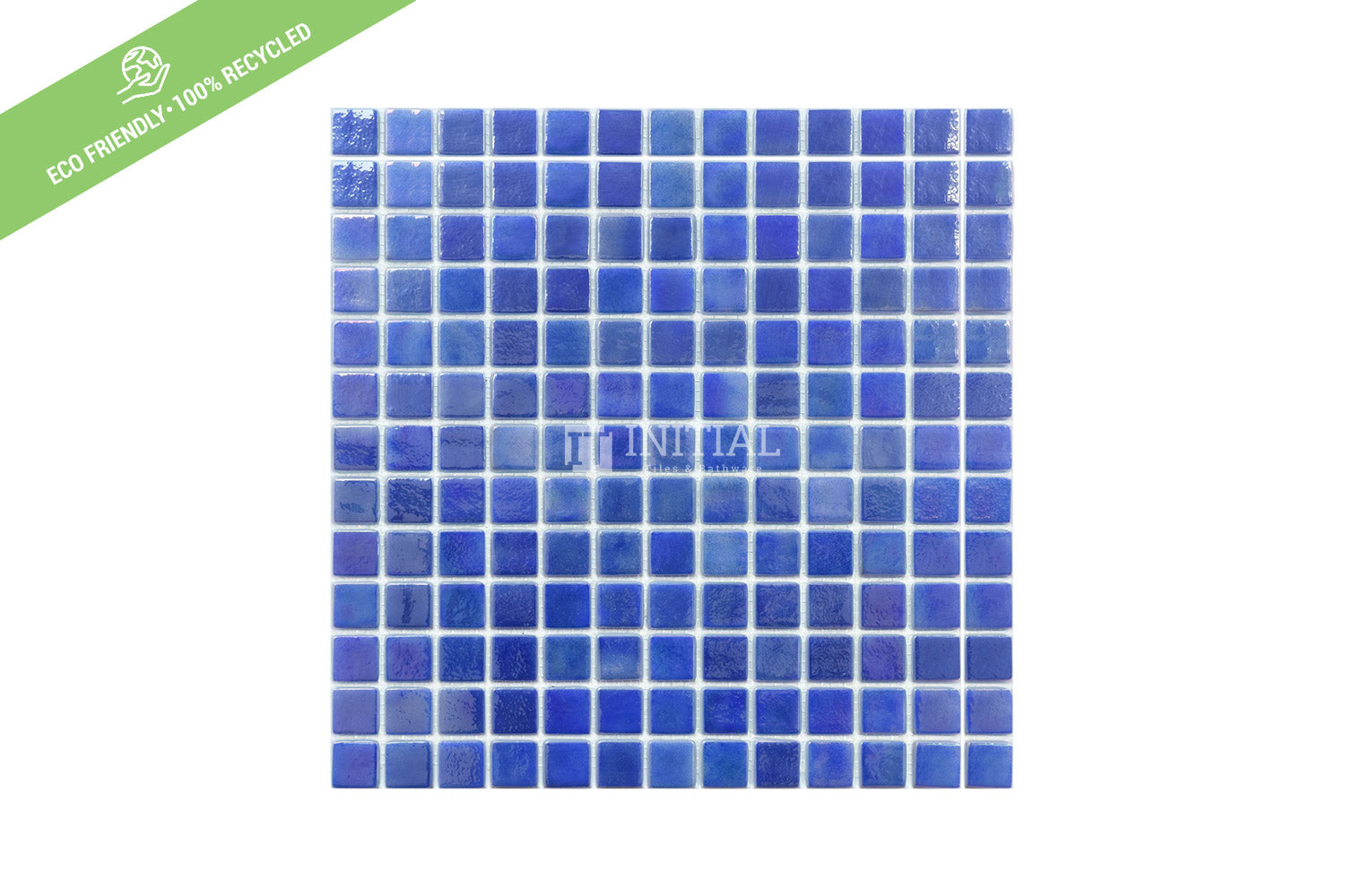 Swimming Pool Mosaic Euro Mosaic Iris Mid Blue