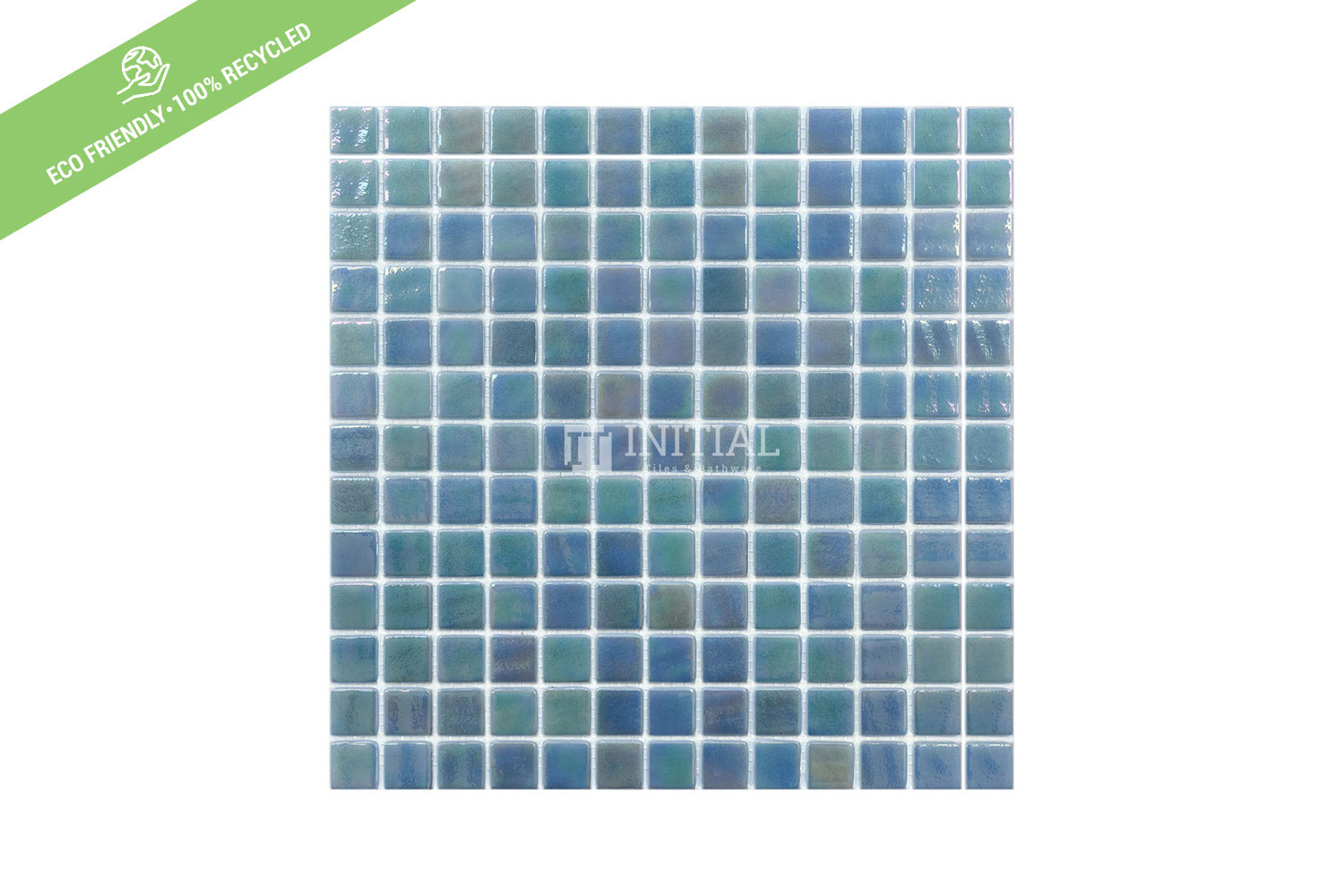 Swimming Pool Mosaic Euro Mosaic Iris Spring Green