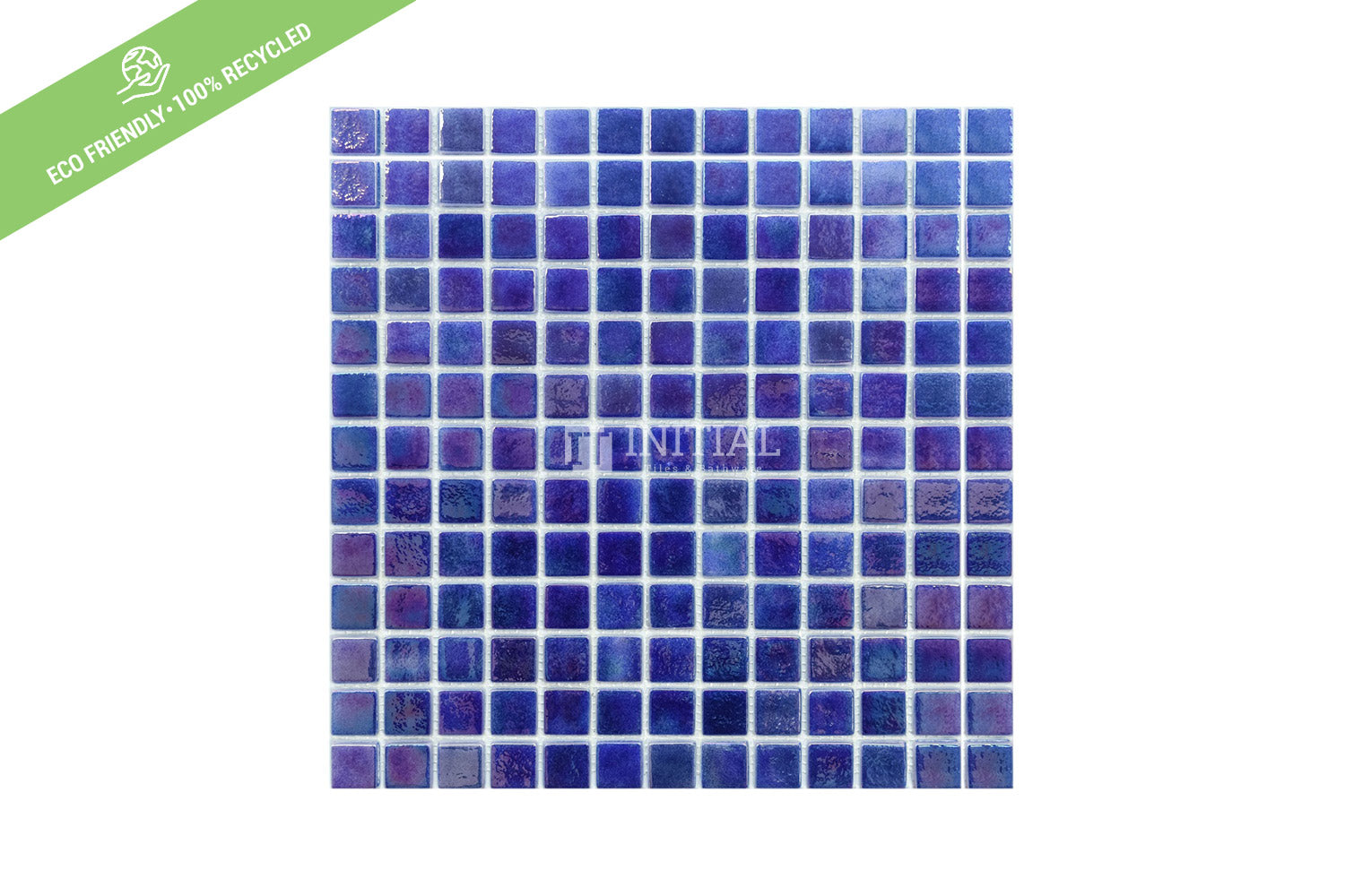 Swimming Pool Mosaic Euro Mosaic Iris True Blue