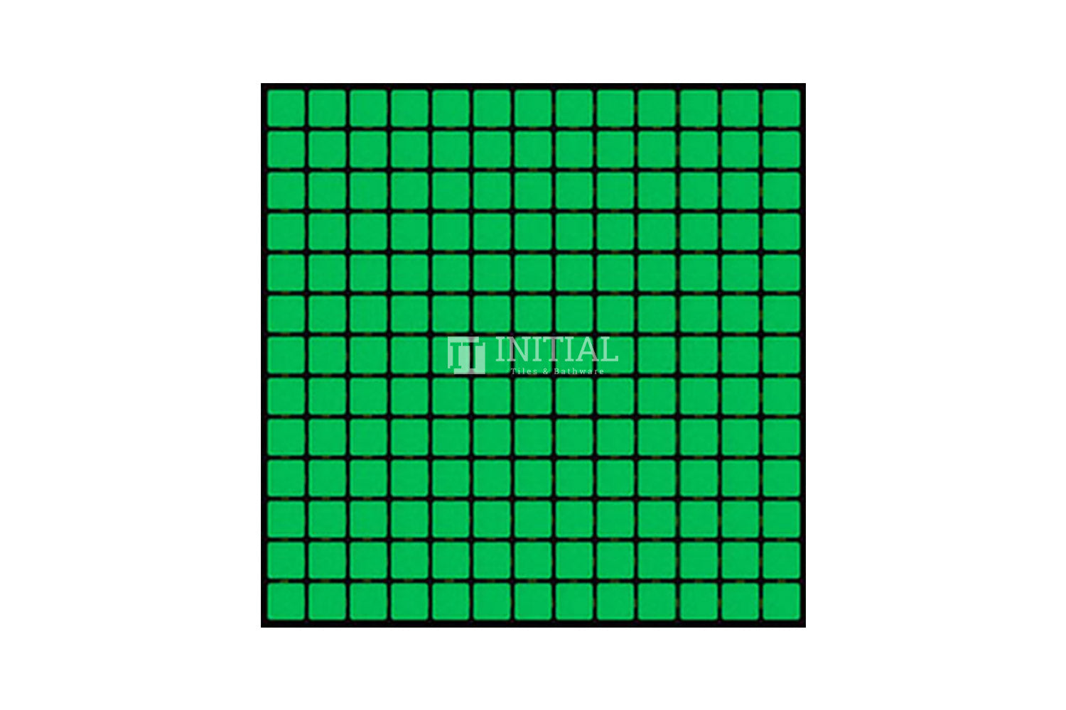 Swimming Pool Mosaic Euro Mosaic Luminous Green
