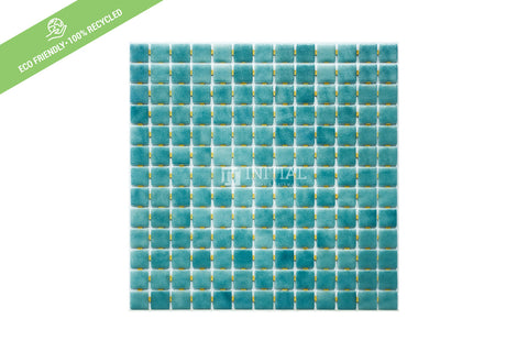 Swimming Pool Mosaic Euro Mosaic Niebla Lagoon Teal Sheet
