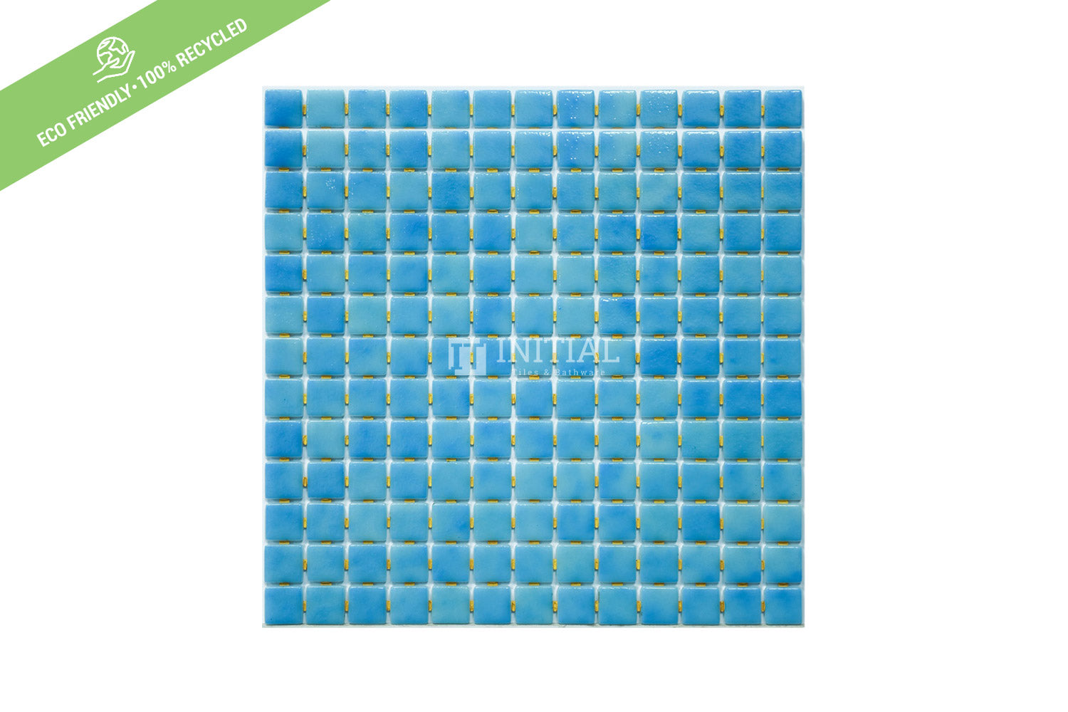 Swimming Pool Mosaic Euro Mosaic Niebla Shimmer Blue