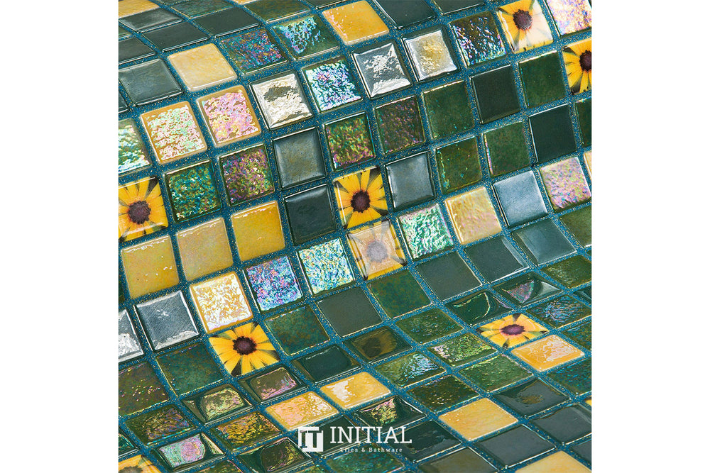 Swimming Pool Mosaic Ezzari Topping Marigold
