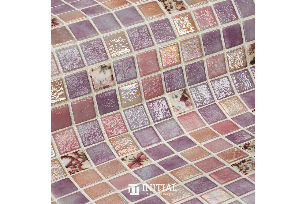 Swimming Pool Mosaic Ezzari Topping Violet