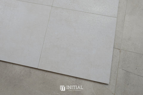 Concrete Look Tile Highway Cream Lapapto 300X300