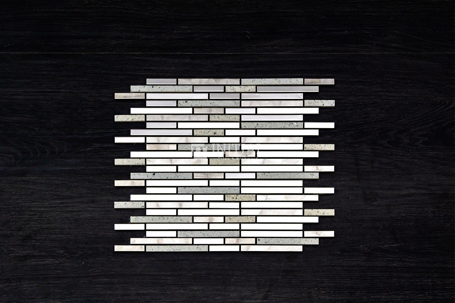 Bathroom Feature Mosaic Metallic #6 MC016-F