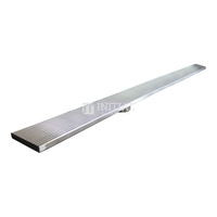 Bathroom Channel Wedge 1200mm Stainless Steel Floor Waste Chrome