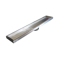 Bathroom Tile Insert 900mm Stainless Steel Floor Waste Chrome