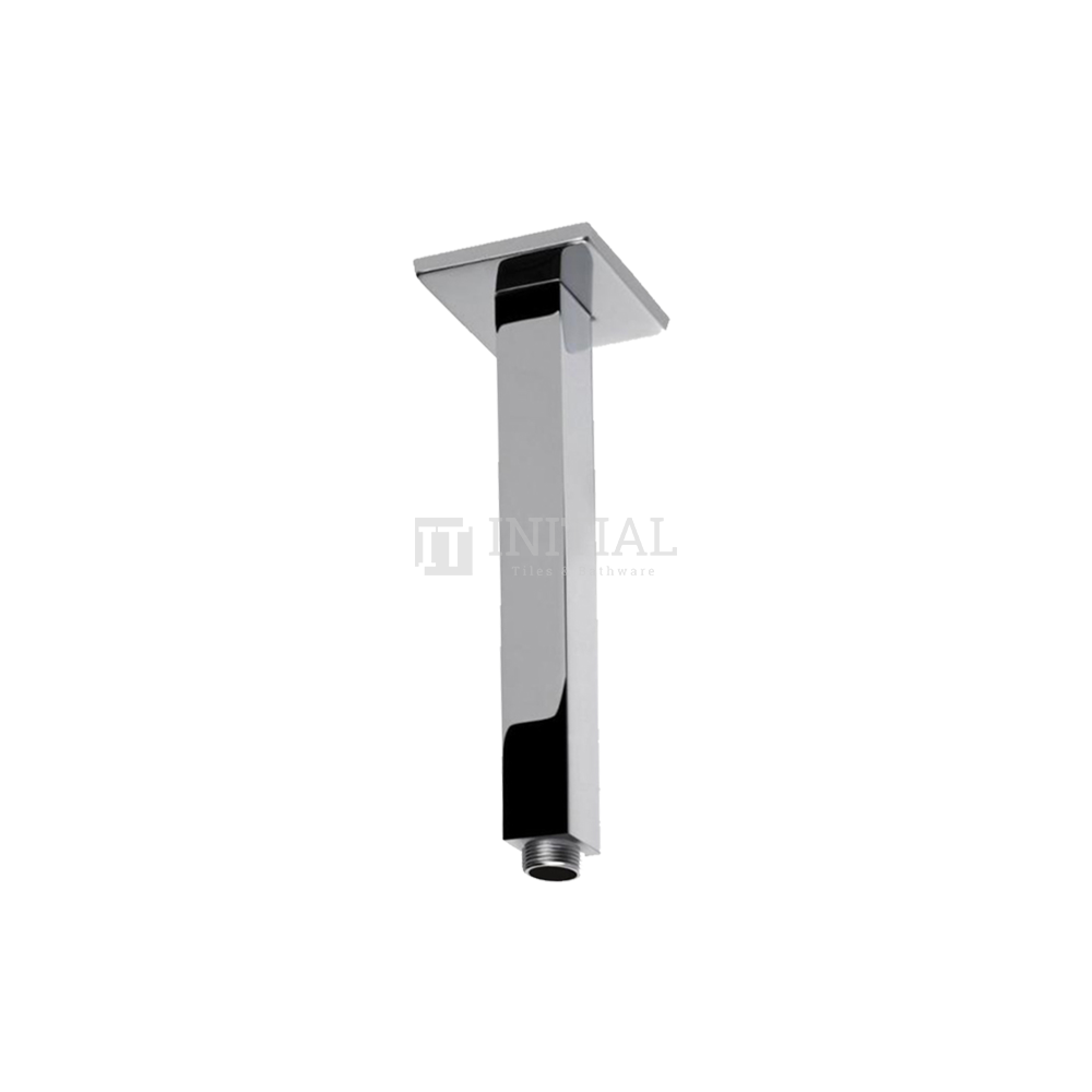 Square Ceiling Shower Arm 200mm Chrome