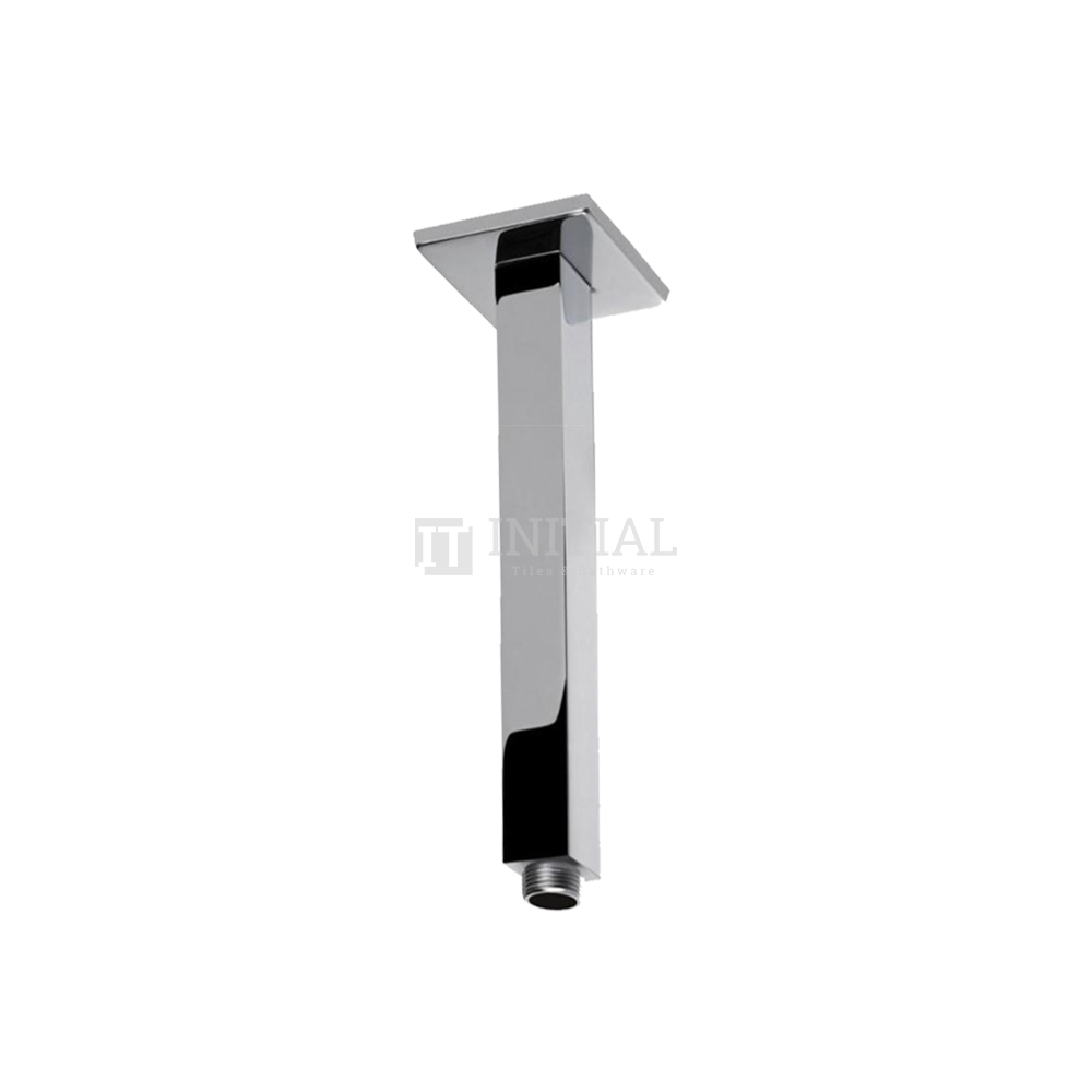 Square Ceiling Shower Arm 300mm Chrome