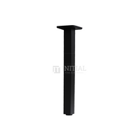 Square Ceiling Shower Arm 300mm Matt Black