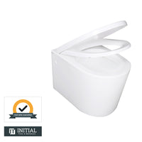 Urbane Box Rim Wall Hung Pan Ceramic White 550X360X320