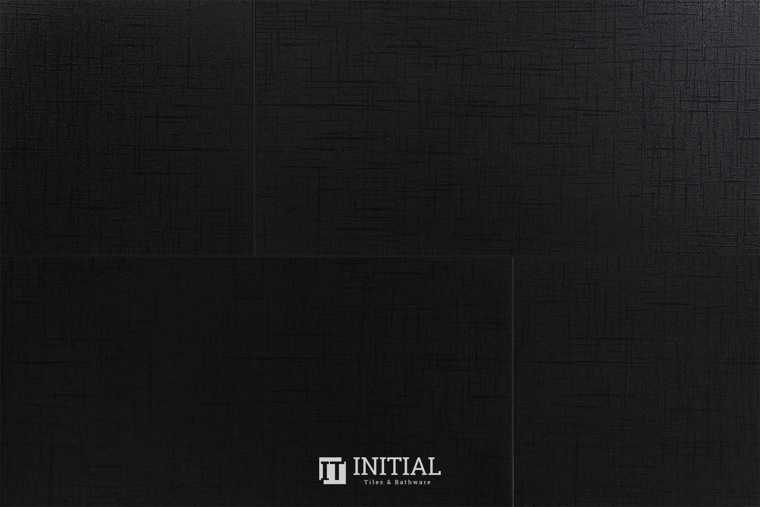 Bathroom Feature Tile Style Black Lappato 300X600