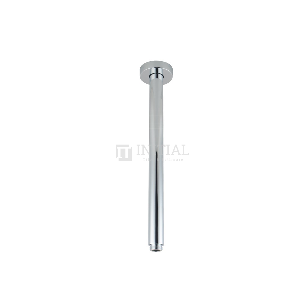 Round Ceiling Shower Arm 200mm Chrome