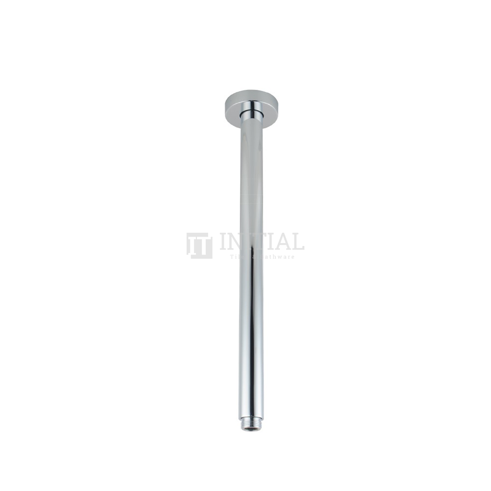 Round Ceiling Shower Arm 300mm Chrome