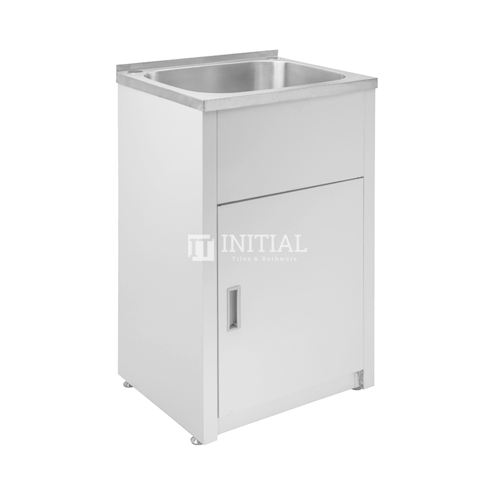 Freestanding Stainless Steel Laundry Tub 30L 560X370X870