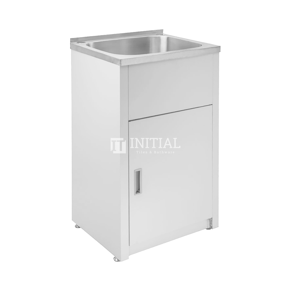 Freestanding Stainless Steel Laundry Tub 35L 560X455X870